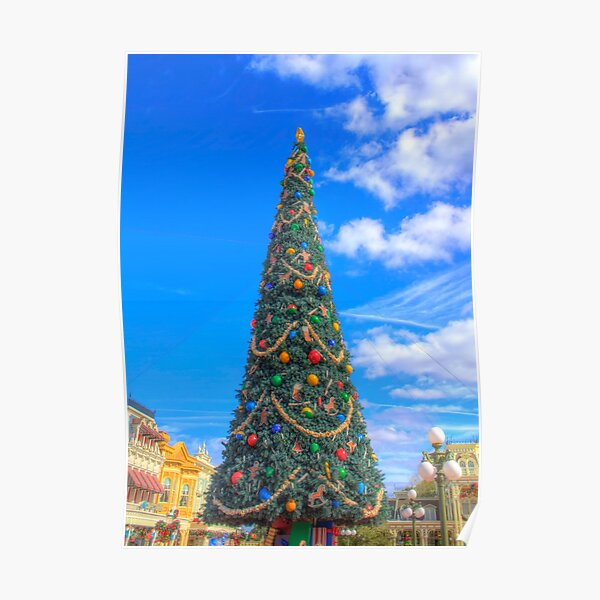 Merry Main Street Poster