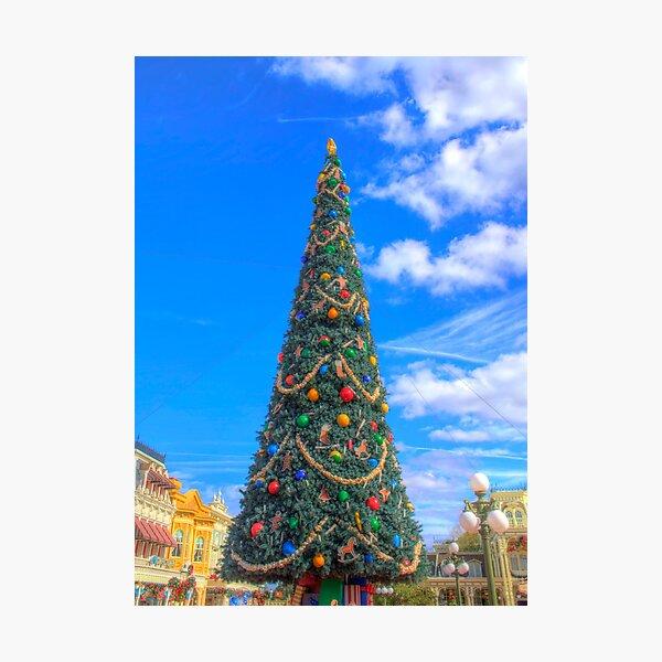 Merry Main Street Photographic Print