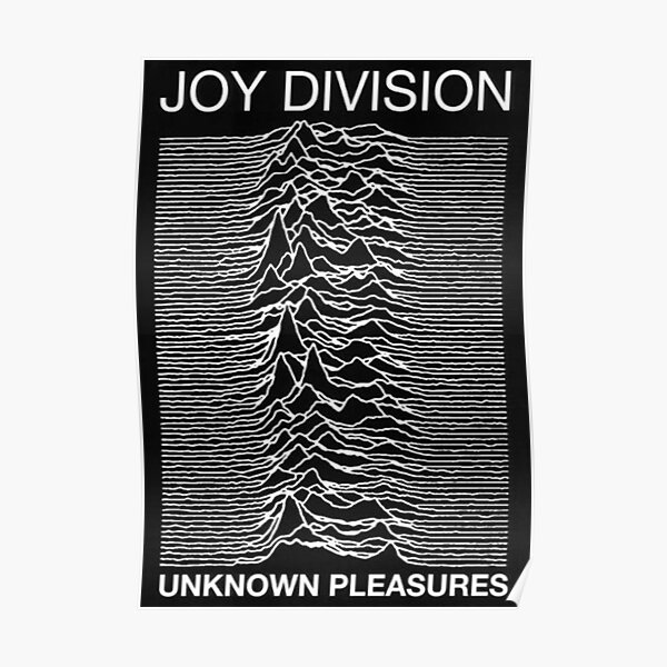 Joy Division: Unknown Pleasures Poster