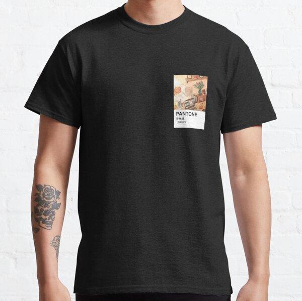 Pantone aesthetic Anime Peaceful Stationary Classic T-Shirt