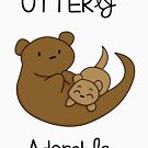 OTTERly Adorable! [Apparel & Transparent Stickers] von charsheee
