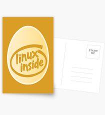 LINUX INSIDE Postcards