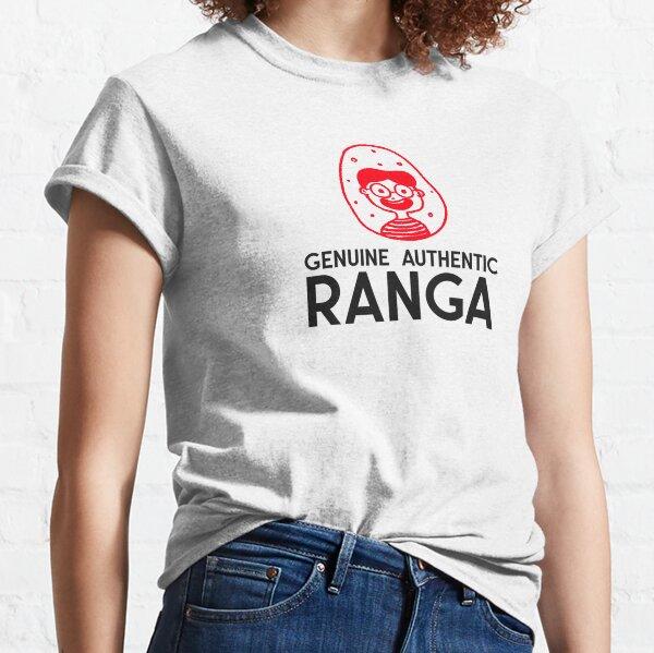 Genuine Authentic Ranga funny t shirt design Classic T-Shirt