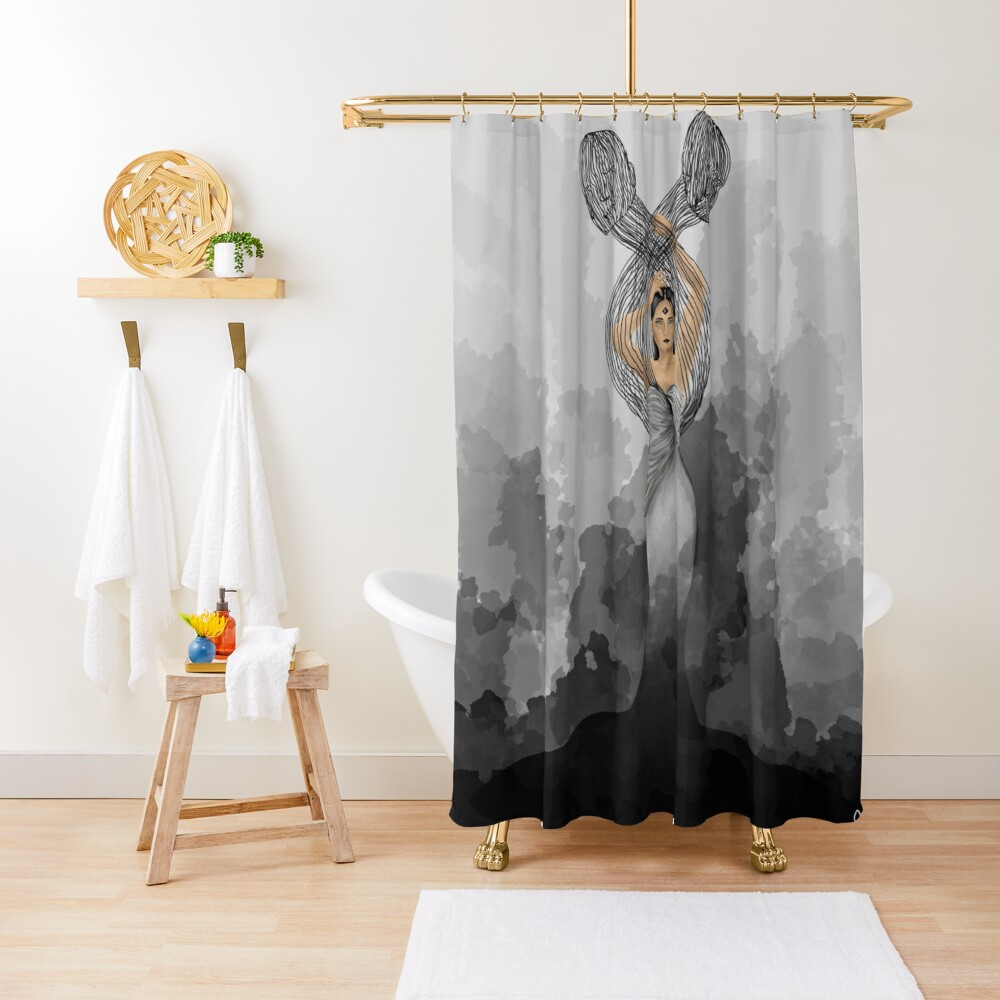 The Move Shower Curtain