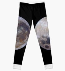 Full Moon in 3D colour Leggings