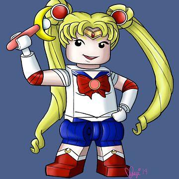 Legolized Sailor Moon by luvusagi