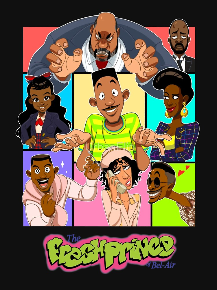 Fresh Prince of Bel Air Cartoon Cover by UrbanFlip