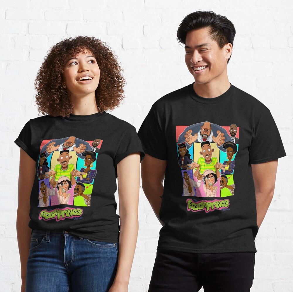 Fresh Prince of Bel Air Cartoon Cover Classic T-Shirt