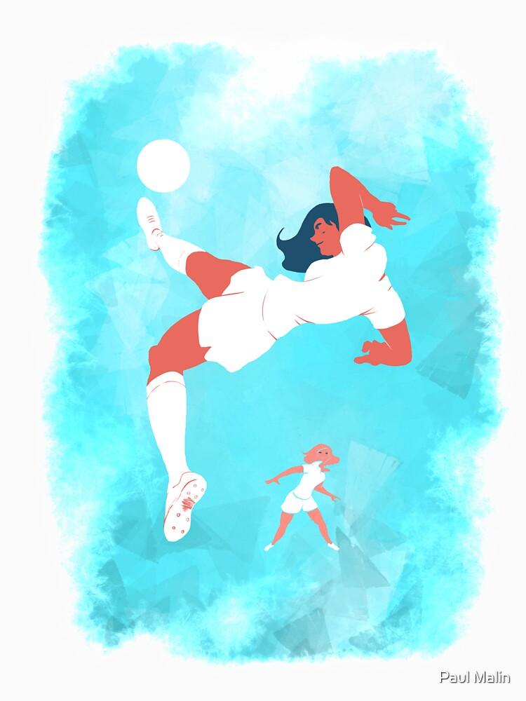 «Footballeuses» par Kite4