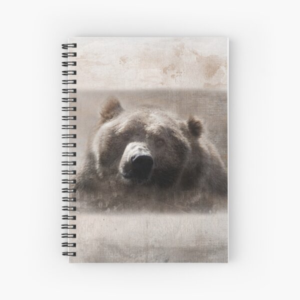 The Grungy Grizzly Spiral Notebook