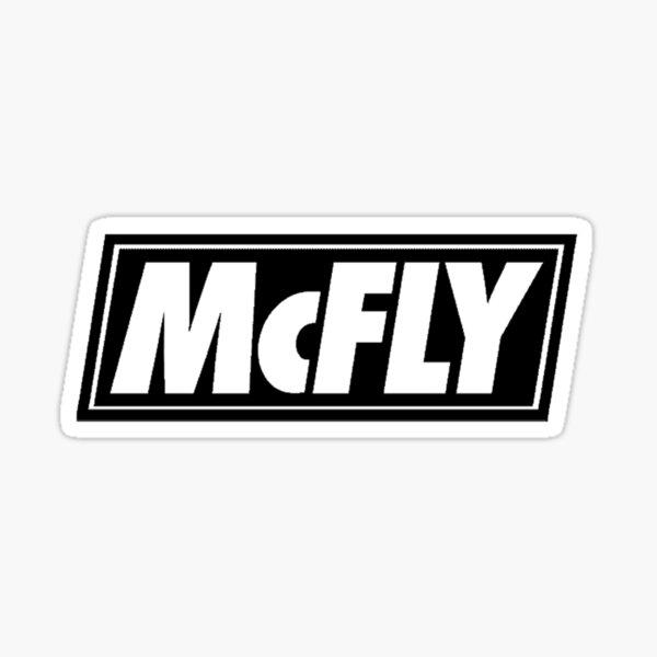 McFly 2020 Logo Sticker