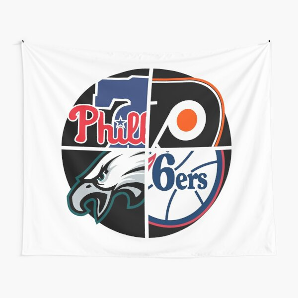 Philly Sports Teams Tapestry