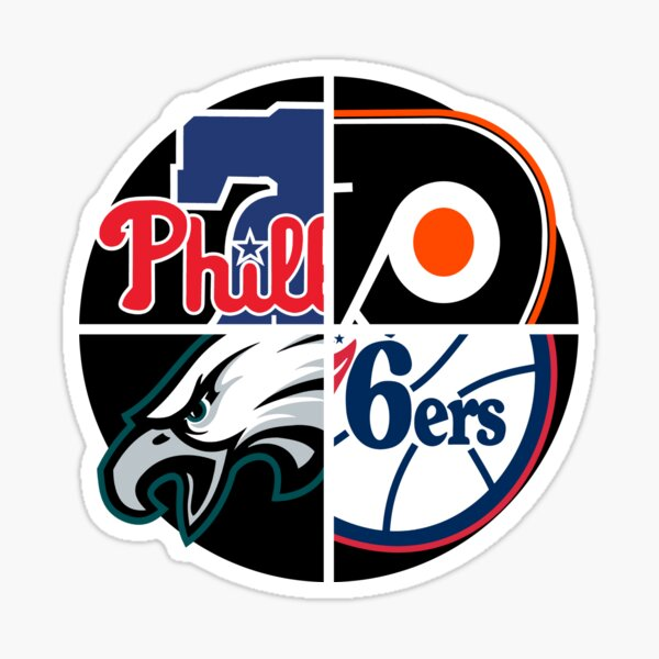 BIGGER Love Philly Sports Decal
