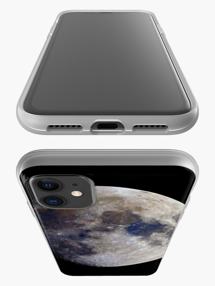Alternate view of Gibbous Moon in saturated colour iPhone Case & Cover