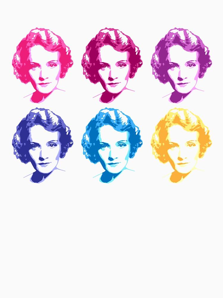 Pop-Art Marlene Dietrich by jardine-nash