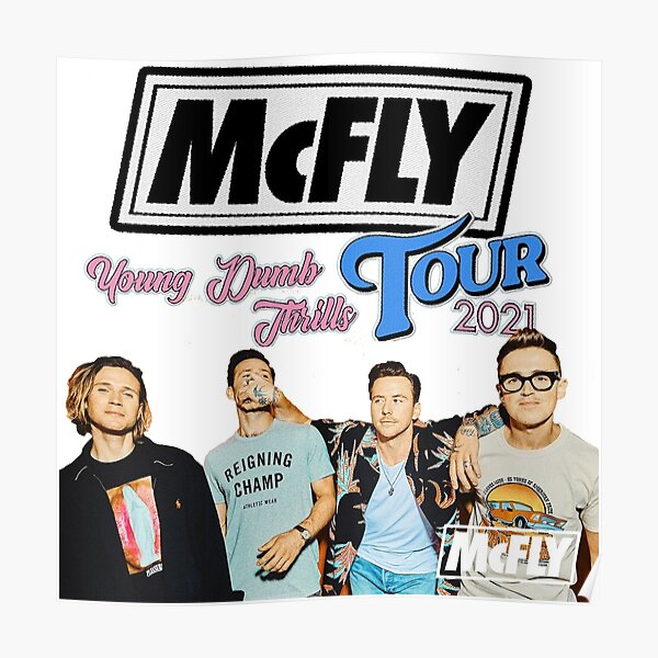 McFly Tour 2021 Poster