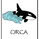 Save Orcas T-shirt, Hoodie, Sticker, Art Print, iPhone Case, Samsung Galaxy Case, Or iPad Case by K D Graves Photography