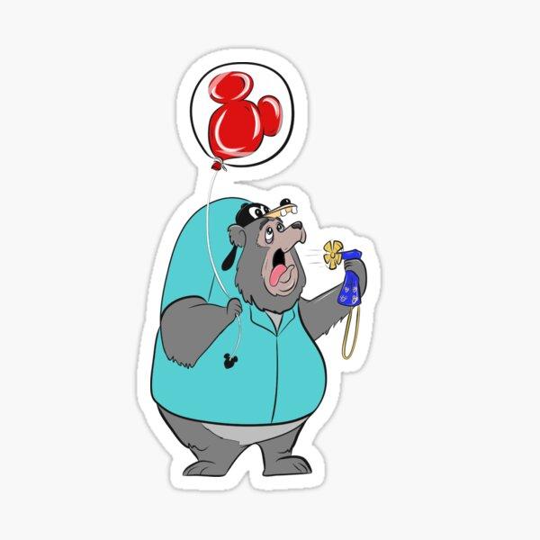 Country Bear Jamboree - Big Al Sticker