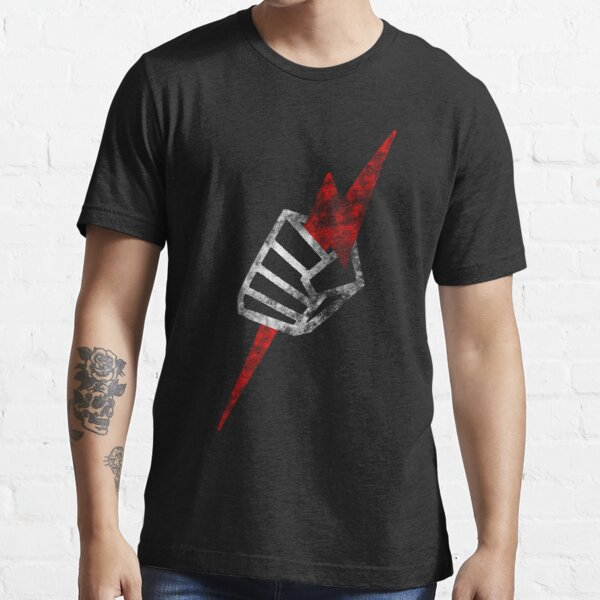"Pride ""Fist"" Distressed Essential T-Shirt"