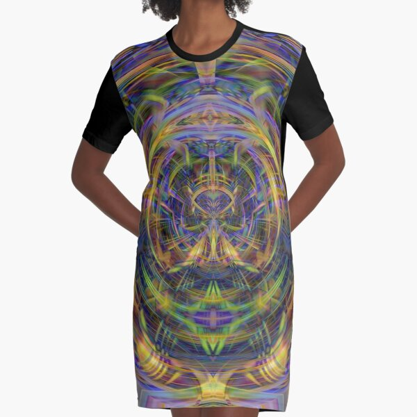 A Space Age Marvel Graphic T-Shirt Dress