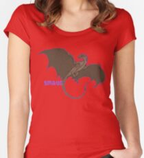 Smaug -UPDATED- Women's Fitted Scoop T-Shirt