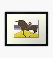 Smaug -UPDATED- Framed Print