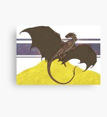 Smaug -UPDATED- Canvas Print