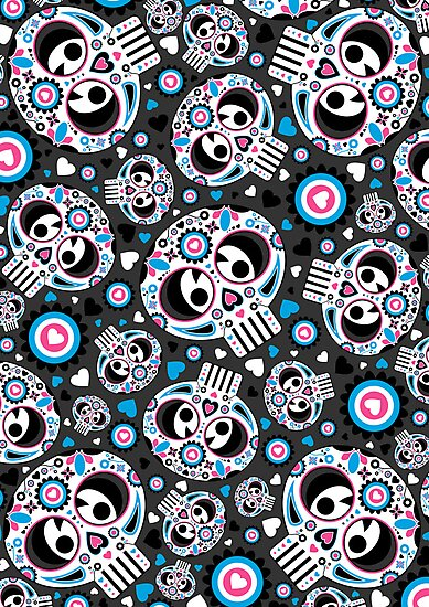 Mexican 'Day of the Dead' Pattern by MurphyCreative