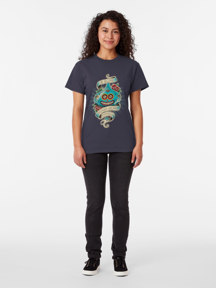 Alternate view of Slime de los Muertos Classic T-Shirt