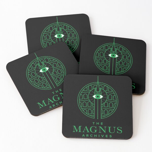 The Magnus Archives - Panopticon Coasters (Set of 4)