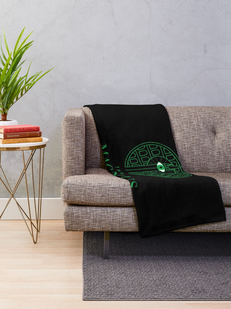 Alternate view of The Magnus Archives - Panopticon Throw Blanket