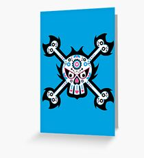 Mexican 'Day of the Dead' Skull Greeting Card