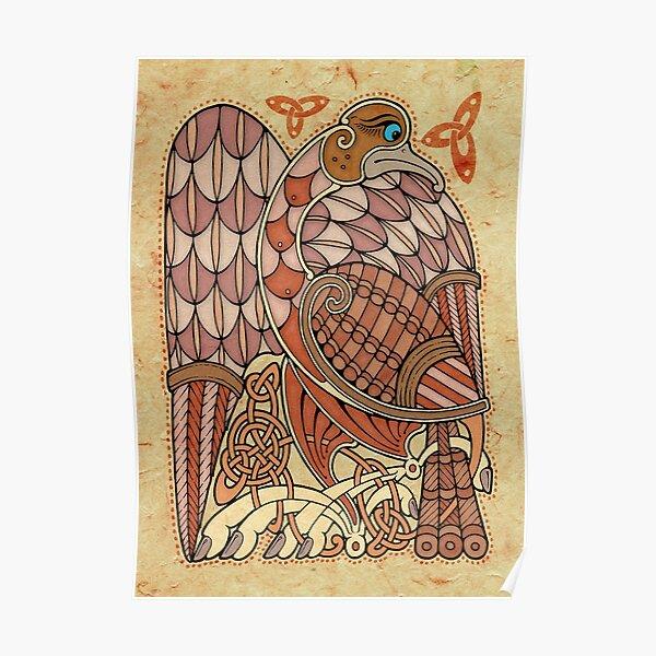 Celtic Bird Poster