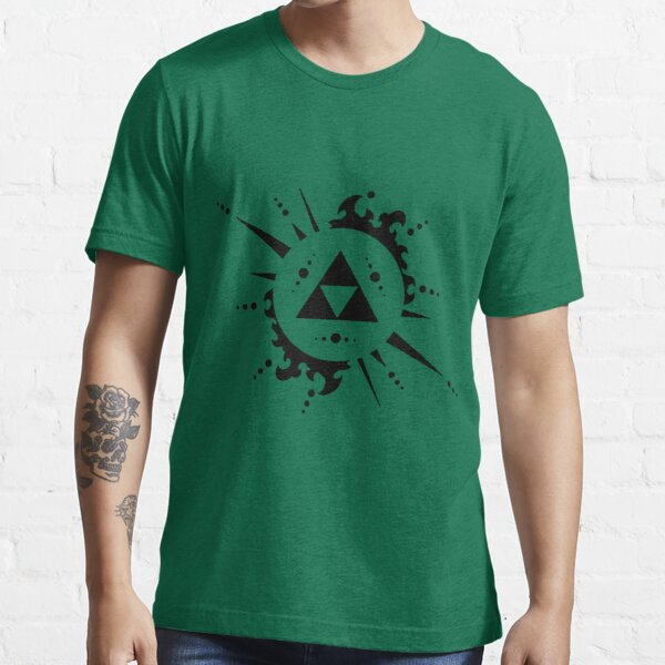 Triforce Black and White Essential T-Shirt