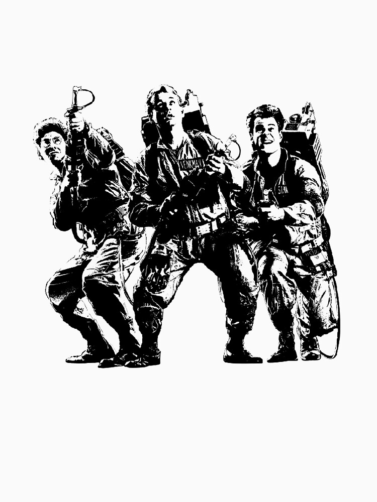 Ghostbusters Film Poster Silhouette | Unisex T-Shirt