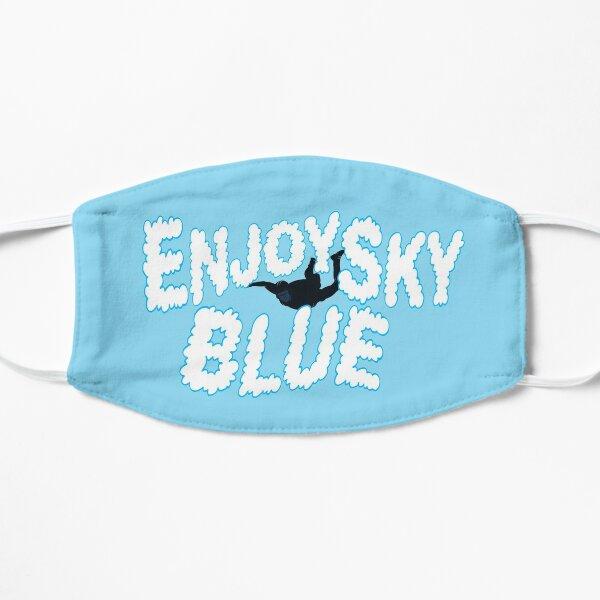 Enjoy Sky Blue Flat Mask