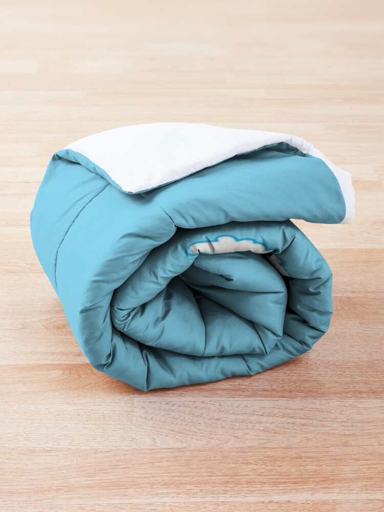 Alternate view of Enjoy Sky Blue Comforter