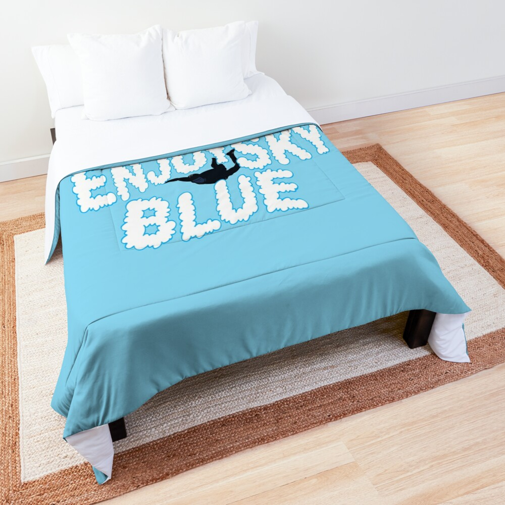 Enjoy Sky Blue Comforter