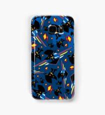 Superhero Silhouette Pattern Samsung Galaxy Case/Skin