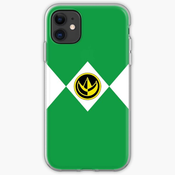 MMPR Green Ranger With Coin iPhone Soft Case