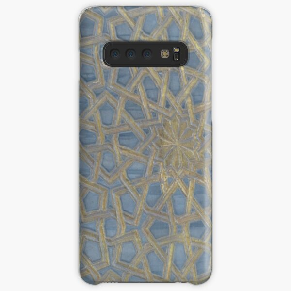 Worked Leather Stars Samsung Galaxy Snap Case