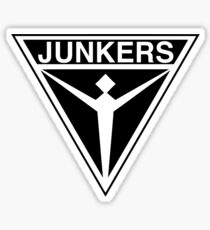 Junkers Aircraft logo Sticker