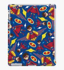 Cute Superhero Pattern iPad Case/Skin