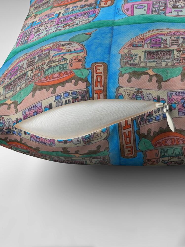 Alternate view of Burger Diner Floor Pillow