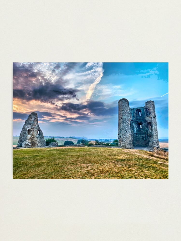 Alternate view of Hadleigh Castle HDR Photographic Print
