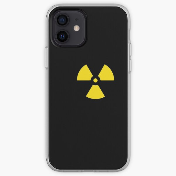 Nuclear Waste Hazard Symbol iPhone Soft Case