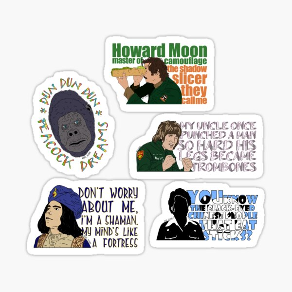 Boosh sticker-pack!! Sticker