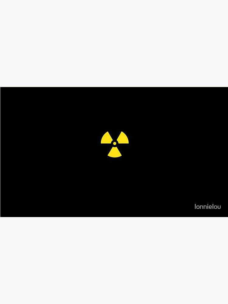 Nuclear Waste Hazard Symbol by lonnielou
