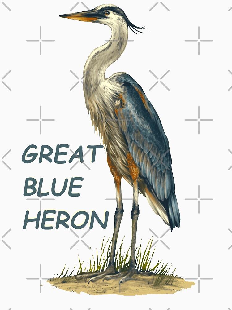 Great Blue Heron Florida Keys by KeysTreasures