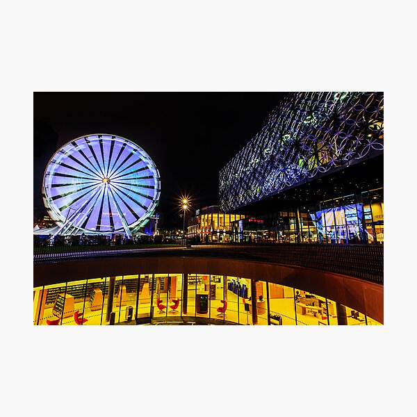 The Library of Birmingham and The Wheel Photographic Print